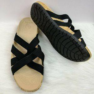 Crocs Women's Eddie Slip On Sandals Size 8 W